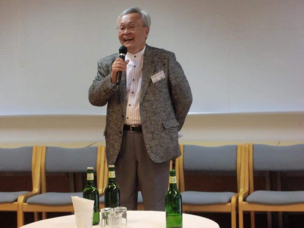 小松先輩のスピーチ